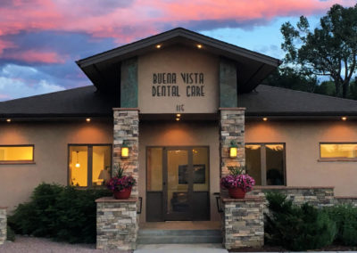 Buena Vista Dental Care is located at 115 Brookdale Avenue, across from the Post Office.